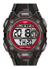 Reloj Digital Lemon Dl170 Sumergible 43mm Ø