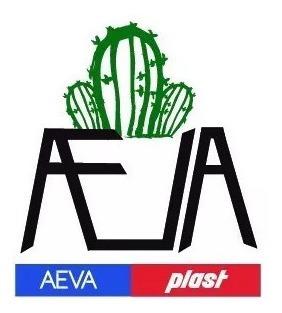 Maceta Plastico N6 Pack 100 U Aevaplast Cactus