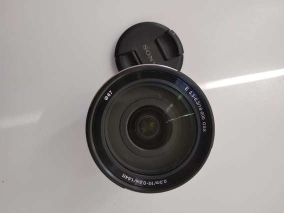 Lente Sony 18-200mm