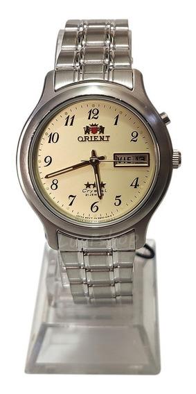 Relógio Orient Automatico Masculino Original Prata Caixa Nf