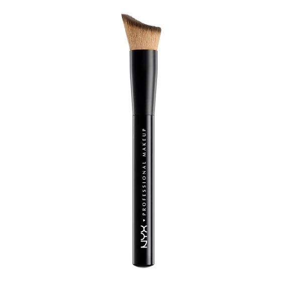 Brochas Maquillaje Liquido Rostro Total Control Brush Nyx