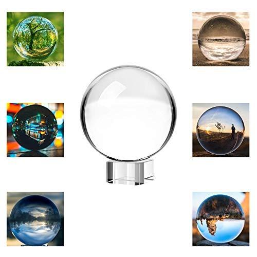 Neewer 80mm/3 Pulgadas Transparente Bola De Cristal Globo C