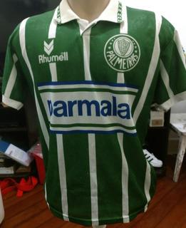 Camisa Oficial E Antiga Palmeiras Campeão Brasileiro 93/94