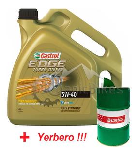 Aceite Castrol Edge Turbo Diesel 5w40 Sintético 4 Litros
