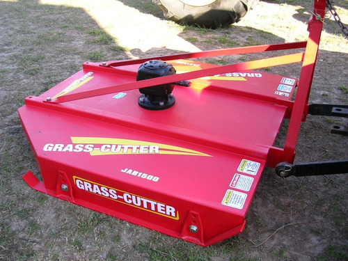 Desmalezadora 3 Puntos Grass Cutter 1,5 Mts