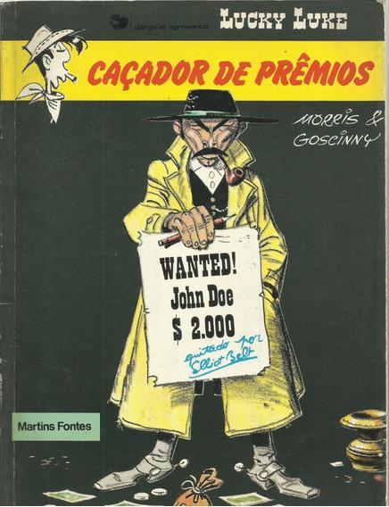 Hq Lucky Luke Caçador De Premios Morris & Goscinny Raro 1983