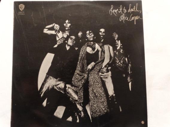 Vinilo Love It To Death Alice Cooper Usa 1971