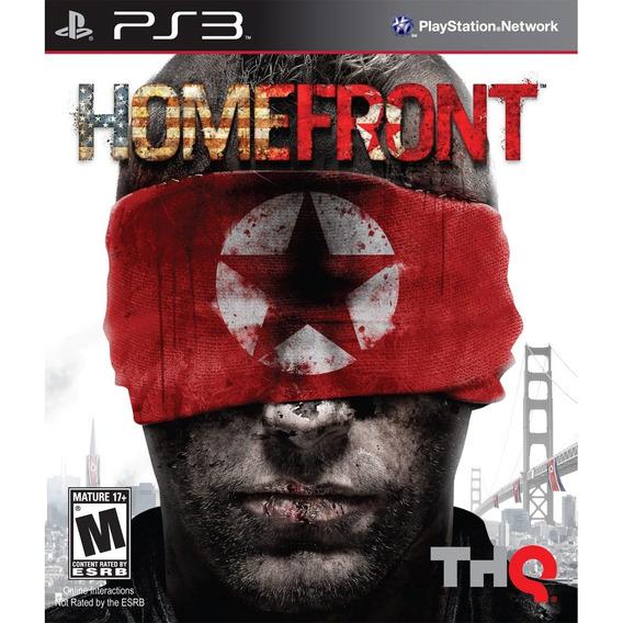 Homefront Ps3 | Mídia Física Original Playgorila