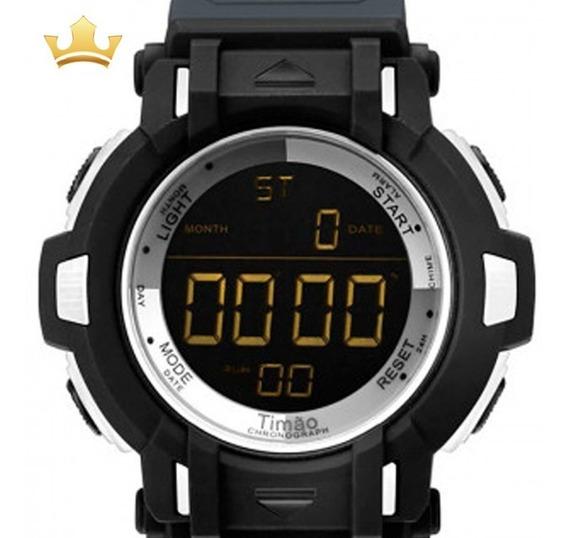 Relógio Technos Corinthians Masculino Cor8111/8p Com Nf