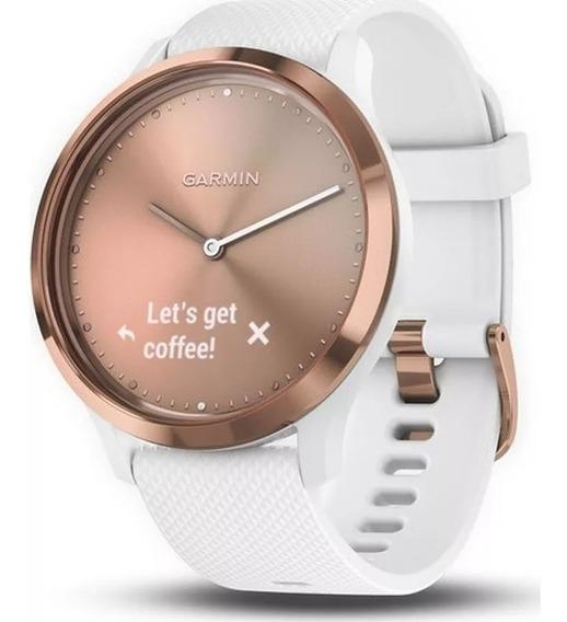 Relógio Garmin Vívomove Hr Sport Hybrid Smartwatch Lacrado