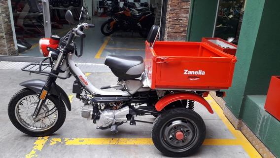 Zanella Tricargo 110 2018 Impecable Tamburrino Motos