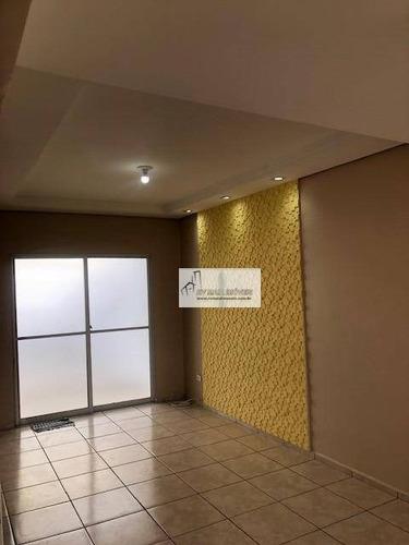 Imagem 1 de 30 de Casa Com 3 Dormitórios Para Alugar, 80 M² Por R$ 1.800,00 - Condomínio Village Splendore - Sorocaba/sp - Ca1410