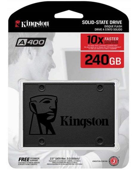 Ssd Kingston 240gb A400 - Novo - Original - Nota Fiscal
