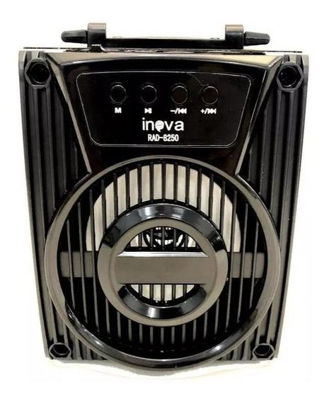 Mini Alto Falante Inova Hi-fi Rad-8250 Bluetooth