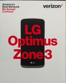Telefono Celular Lg Optimus Zone 3 Nuevo Liberado Lg-vs425l