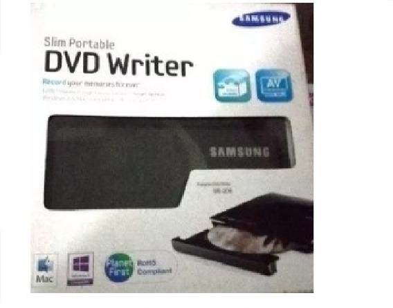 Quemador Cd / Dvd Writer Se-208 Slim Portable Samsung