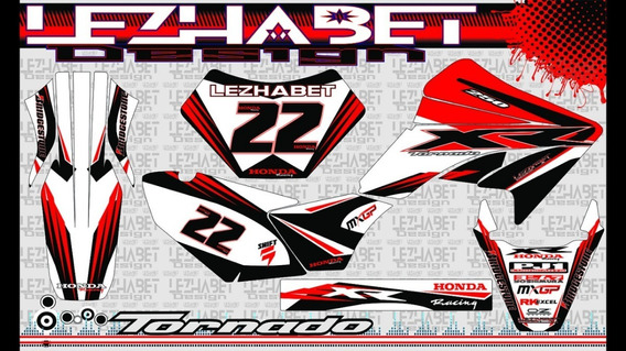 Kit Honda Tornado 007 Ideal Enduro/cross Calidad Profesional
