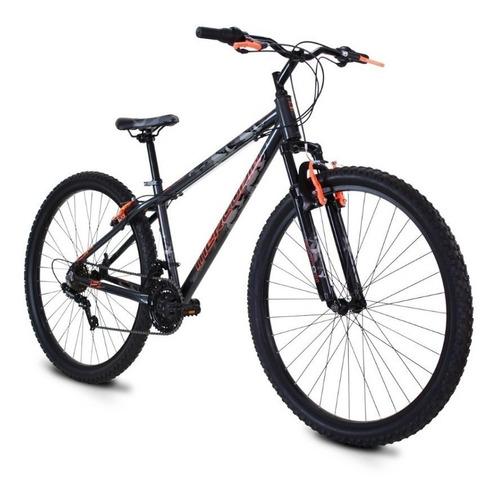 Imagen 1 de 2 de Mountain bike Mercurio Crow R29 21v frenos v-brakes color negro/rojo