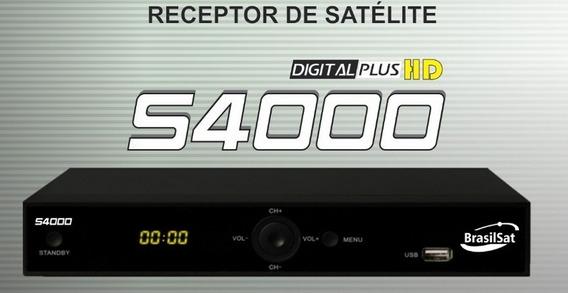 Receptor Analógico E Digital Sd E Hd - S4000 (3pçs)