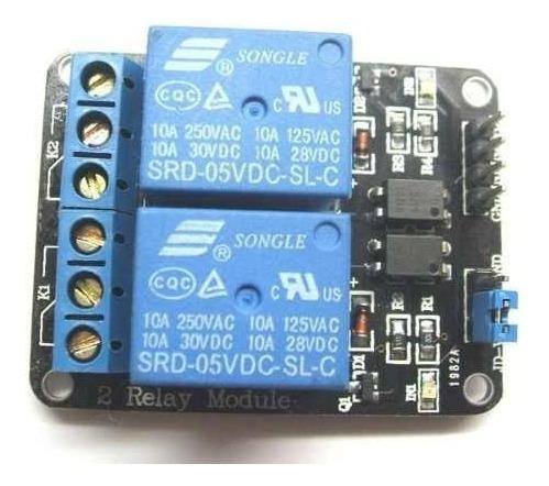 Módulo Relé 2 Canais 5v Arduino Automação 1ª Linha