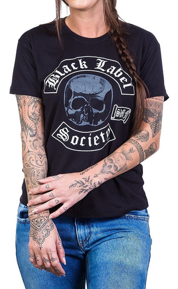 Camiseta Black Label Society Feminina Bandalheira