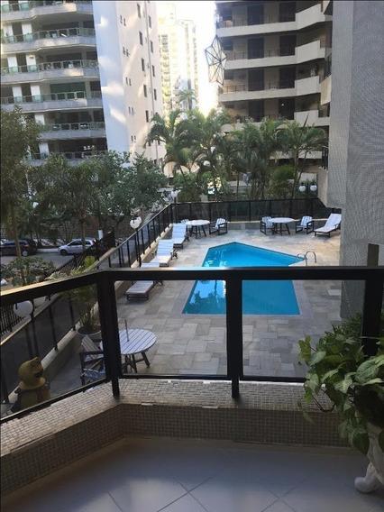 Apartamento Em Barra Funda, Guarujá/sp De 125m² 3 Quartos Para Locação R$ 1.650,00/mes - Ap313635