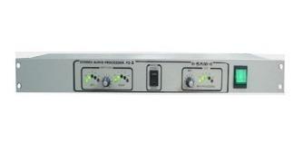 Processador De Nível De Áudio Fm Rádio Web Ou Gravação