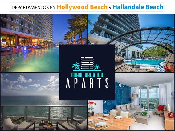 Departamentos En Miami /primera Linea De Mar/ Orlando/