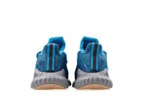 Tenis adidas Alphabounce Azul #6 Al 7.5 Mx + Caja Original