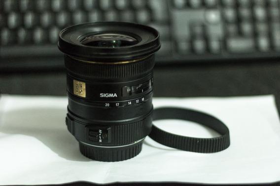Lente Sigma Para Canon 10-20mm F/3.5 Ex Dc Hsm