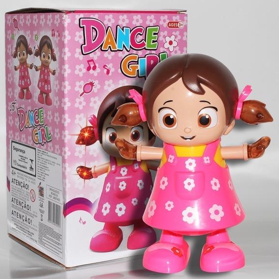 Boneca Musical Canta Dança Acende Luz Dance Girl Novo Modelo