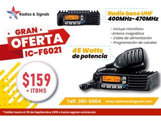 Radio Base Icom Ic-6021