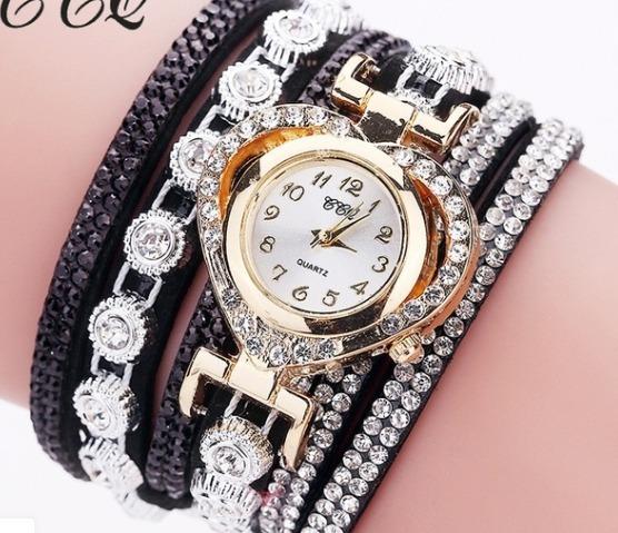 Relógio Feminino Com Pulseira Luxo