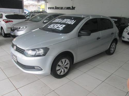 Volkswagen Gol Flex G6 Trendline Completo Zero De Entrada