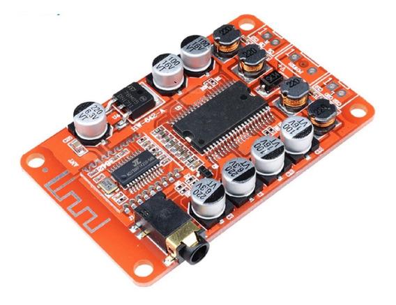 Placa Amplificador 2.0 Compacto Bluetooth Integrado 2x15 30w