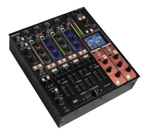 Denon Dnx1700 Mixer Profesional Digital 4 Canales Usb Dj