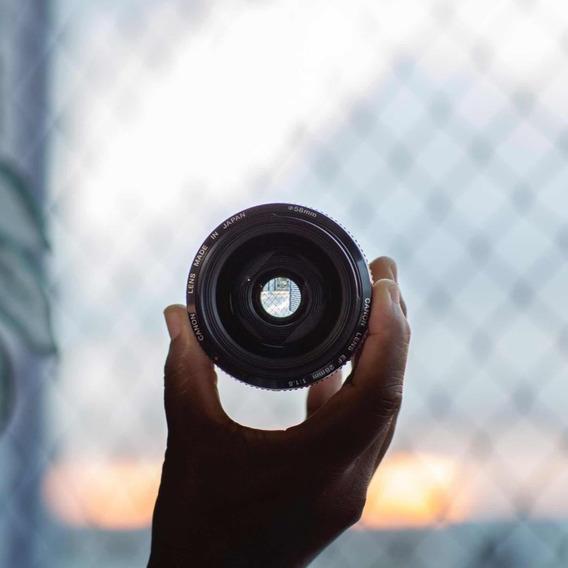Lente Canon 28mm F/1.8 Em Excelente Estado