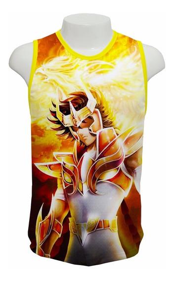 Camiseta Cavaleiros Do Zodíaco Fênix Mod 02 - Regata