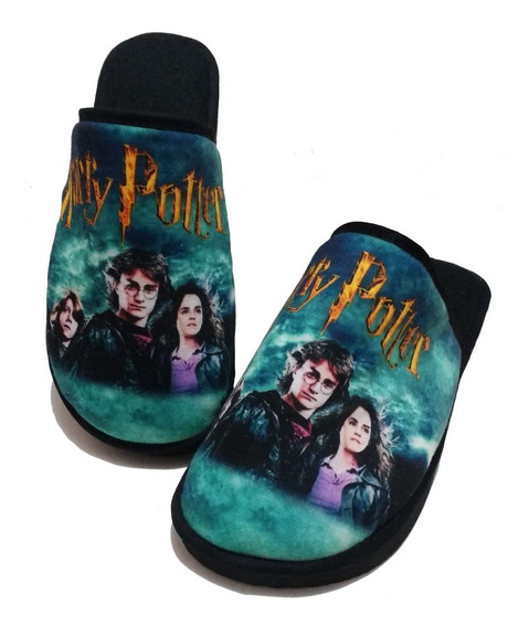 Harry Potter Pantufa Personalizada - Sola De Borracha
