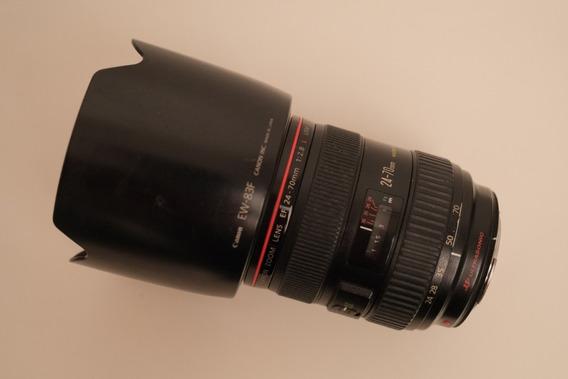 Lente Canon Ef 24-70mm F/2.8 L I Usm