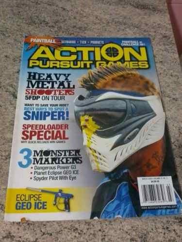 Revistas Importada Paintball Action Pursuit Games