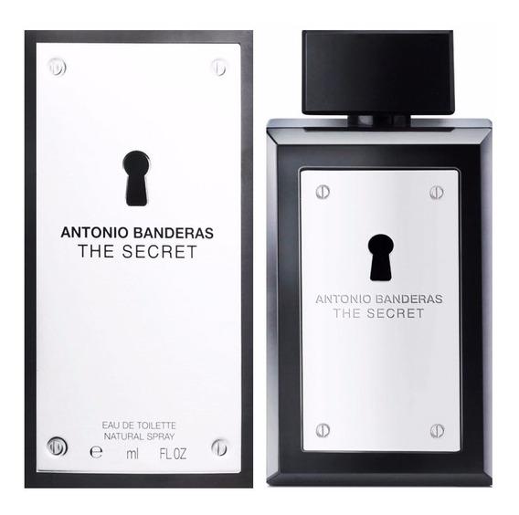 Perfume The Secret 200ml Antonio Banderas Frete Grátis Orig!