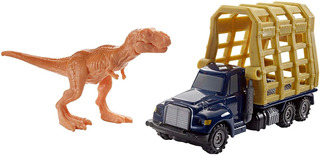 Trailer De Matchbox Jurassic World Dino Transporters T Rex