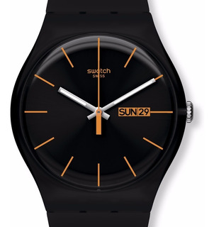 Reloj Swatch Dark Rebel Suob704 | Original Envío Gratis
