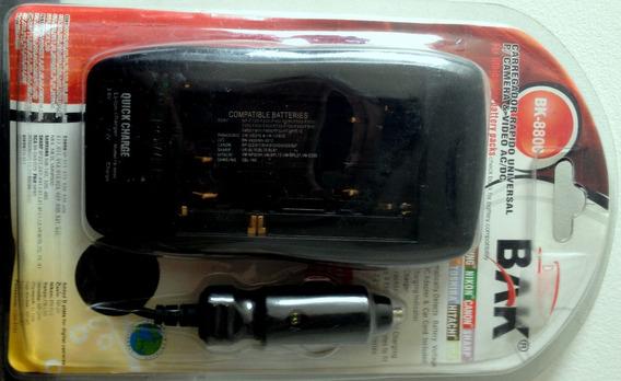 Carregador Rápido Universal P/ Baterias De Câmeras De Vídeo