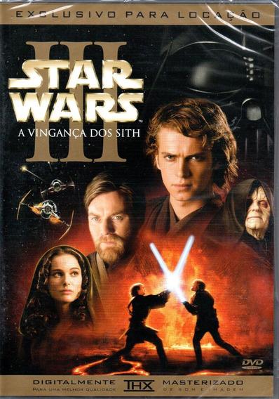 Dvd Filme Star Wars 3 - A Vingança Dos Sith - Dublado