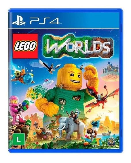 Lego Worlds Ps4 Mídia Física Nacional Lacrado Rj