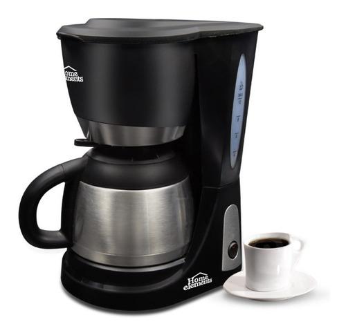 Cafetera 10 Tazas Acero  Home Elements