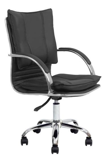 Cadeira Escritório Executiva Desenho Italiano - Frete Grátis