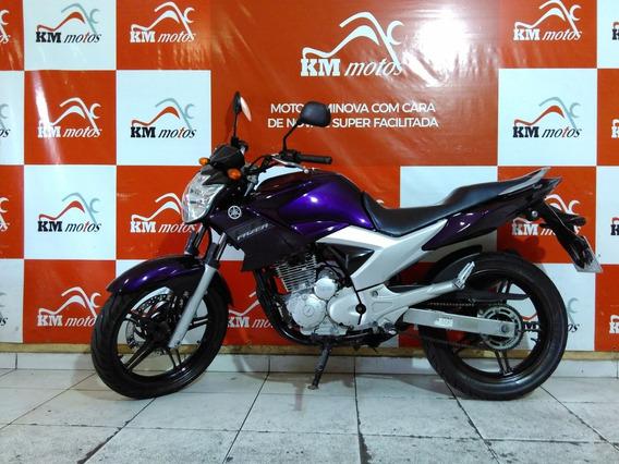 Fazer Ys 250 Roxa 2012